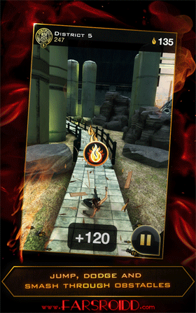Hunger Games - Panem Run Android بازی اندروید