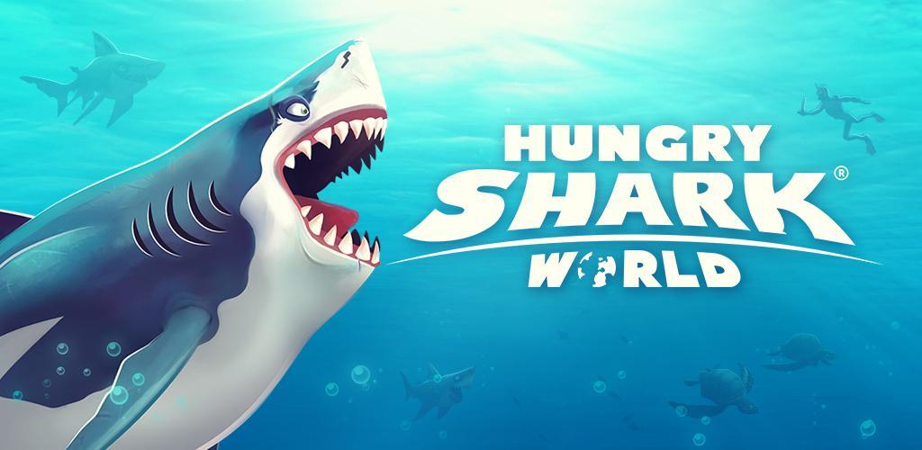 دانلود Hungry Shark World - بازی جدید کوسه گرسنه از یوبی سافت برای اندروید + مود + دیتا
