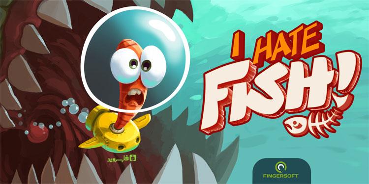 """دانلود I Hate Fish - بازی جذاب """"فرار از ماهی"""" اندروید + مود"""