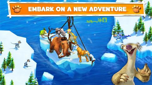 دانلود Ice Age Adventures 2.0.8d – بازی عصر یخبندان اندروید + مود + دیتا