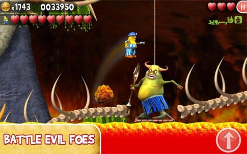 Incredible Jack Android - بازی رایگان اندروید