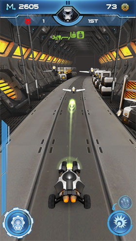 Infinite OverDrive Android - بازی اندروید