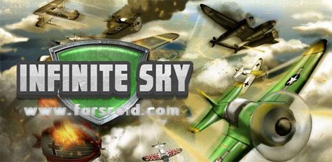 Infinite Sky - بازی سه بعدی هواپیمایی اندروید