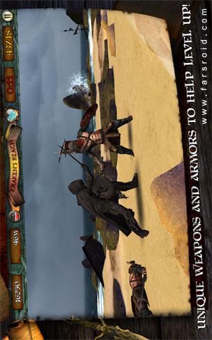 Infinite Warrior Android - بازی اندروید