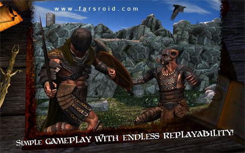 Infinite Warrior Android - بازی نبرد با دشمنان اندروید