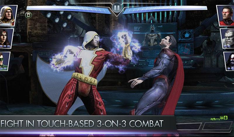 دانلود Injustice: Gods Among Us 3.3.1 – بازی اکشن-قهرمانی بیعدالتی: خدایان میان ما اندروید + مود + دیتا