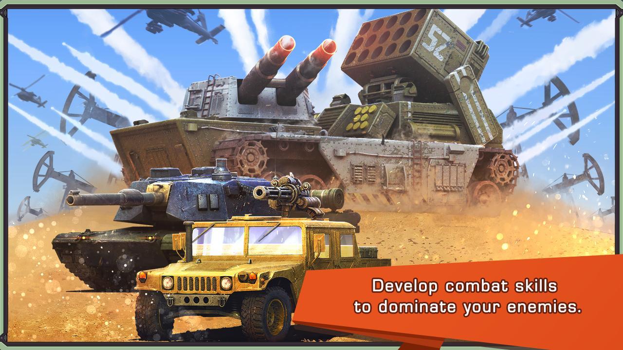 Iron Desert Android - بازی جدید اندروید