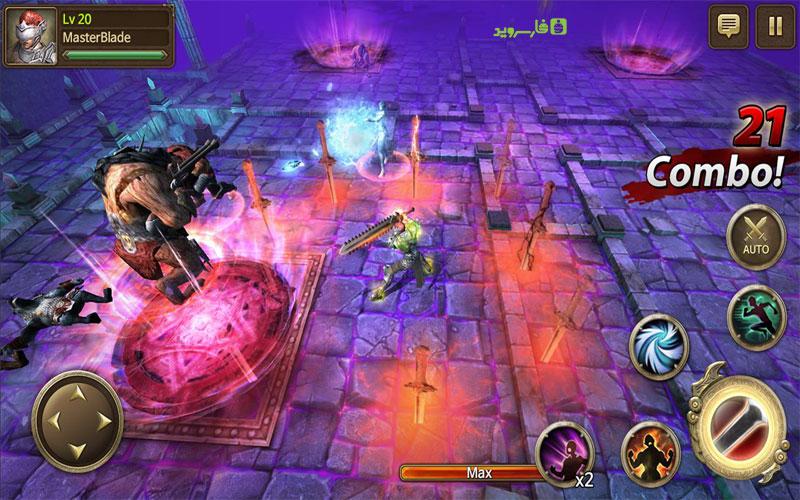 دانلود Iron Knights 1.7.3 – بازی شوالیه های آهنی اندروید!