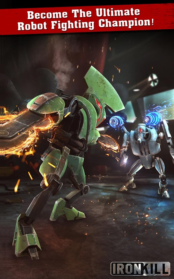 Ironkill: Robot Fighting Game Android