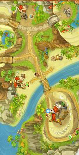 Island Tribe Free Android - بازی رایگان اندروید