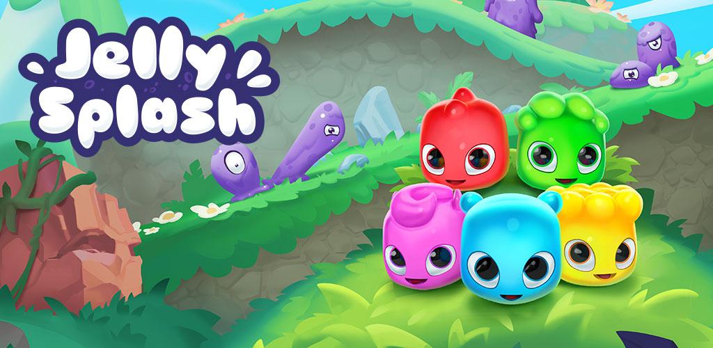 دانلود Jelly Splash - بازی پازل ژله های رنگی اندروید!