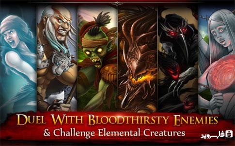 Jewel Fight: Heroes of Legend - بازی اندروید