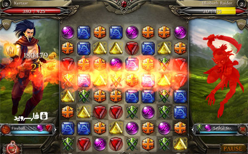 Download Jewel Fight: Heroes of Legend Android Apk + Obb -+ Mod - Google Play