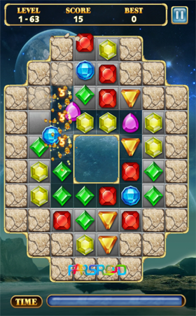 دانلود Jewels Star 2 1.0 – بازی کلاسیک جواهرات اندروید