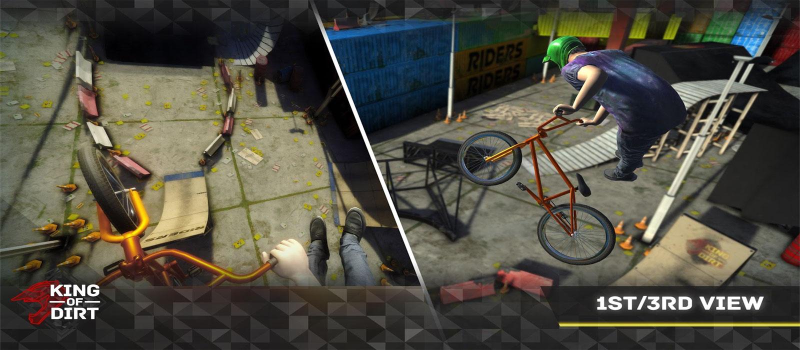 دانلود King Of Dirt - بازی سلطان دوچرخه سواری اندروید + مود + دیتا