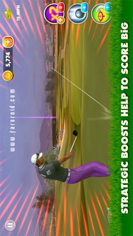 King of the Course Golf - بازی اندروید