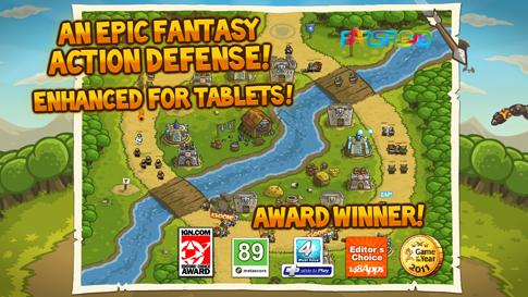 Kingdom Rush Android بازی اندروید