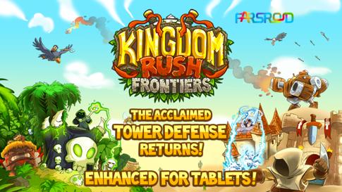 دانلود Kingdom Rush Frontiers - بازی دفاعی اعتیادآور اندروید !