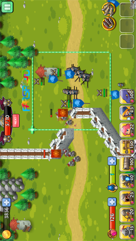 Kingdom Tactics Android بازی اندروید