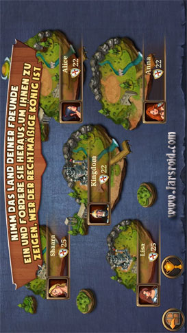 Kingdoms & Lords Android - بازی جدید اندروید