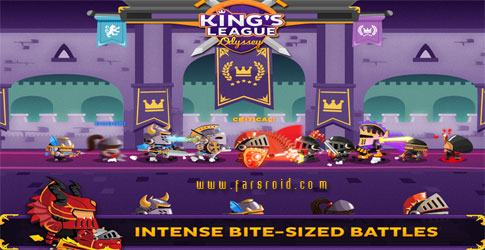 King's League: Odyssey Android - بازی استراتژیکی اندروید