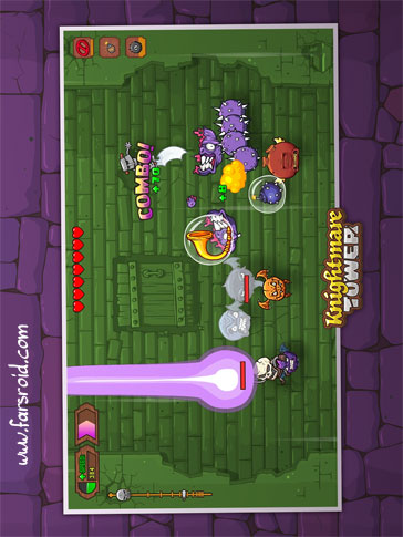 Knightmare Tower Android بازی آندروید - جدید