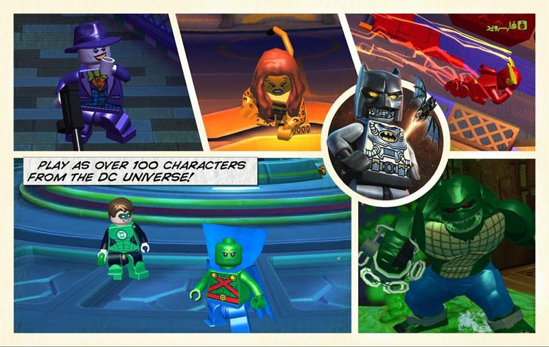 دانلود LEGO® Batman: Beyond Gotham 1.08 – بازی بتمن لگو اندروید + مود + دیتا