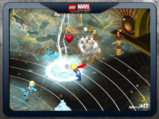 LEGO Marvel Super Heroes Android - بازی جدید اندروید