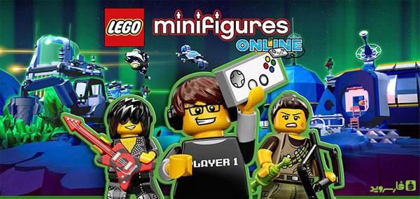 دانلود LEGO® Minifigures Online - بازی اکشن لگو صورتک ها اندروید + دیتا