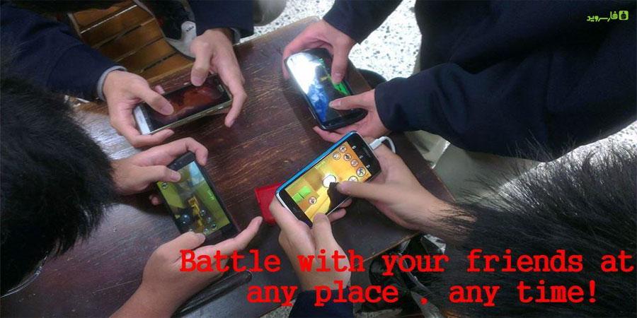 دانلود LWP - LAN Multiplayer FPS - بازی تفنگی فوق العاده شبیه کانتر با امکان بازی به صورت چند نفره آفلاین برای اندروید !