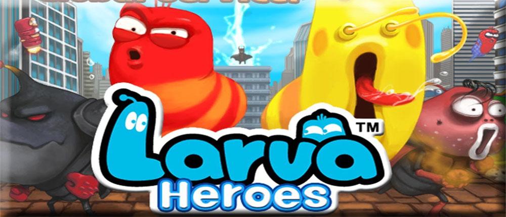 دانلود Larva Heroes: Lavengers 2014 - بازی فوق العاده زیبای لاروا اندروید + دیتا