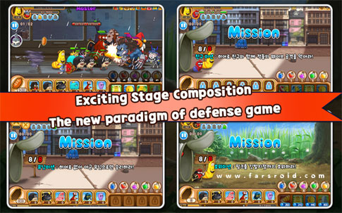 Download Larva Heroes: Lavengers 2014 Android Apk + Obb - New FREE Google Play
