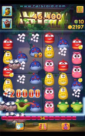 Larva Link Android بازی جدید اندروید - رایگان