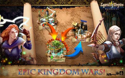 Legend of Empire - Daybreak Android - بازی اندروید