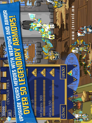 Legendary Wars Android - بازی اندروید