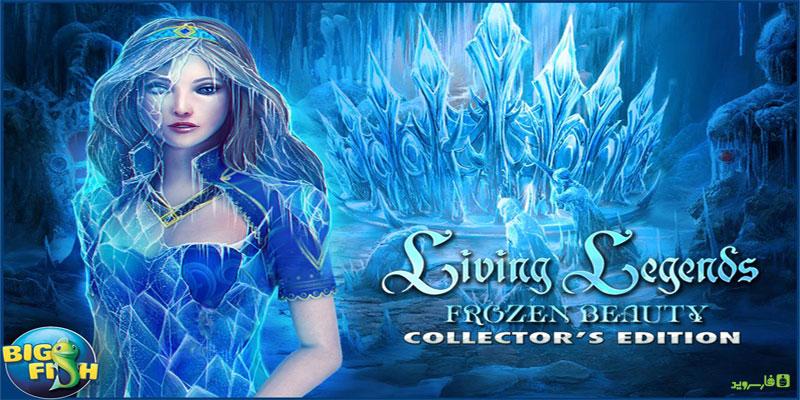 دانلود Legends: Frozen Beauty Full - بازی ماجرایی زیبای خفته اندروید + دیتا
