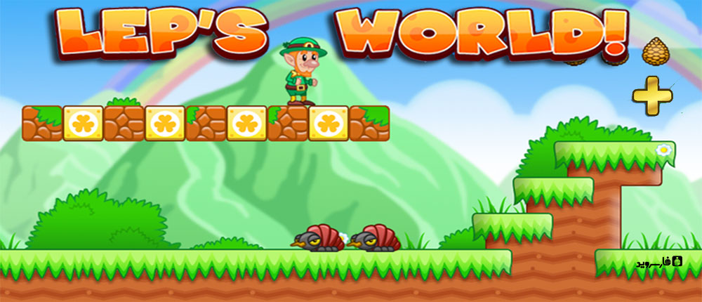 Download Lep's World Plus - a wonderful game similar to Super Mario Android + Mod