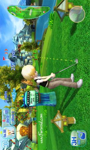 Let's Golf! 3 HD Android بازی اندروید