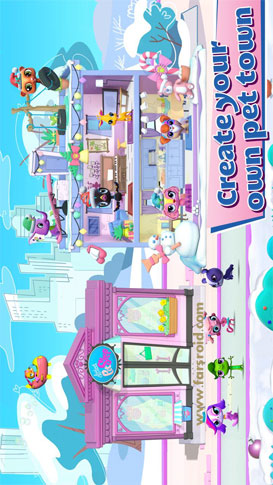 Littlest Pet Shop Android بازی اندروید