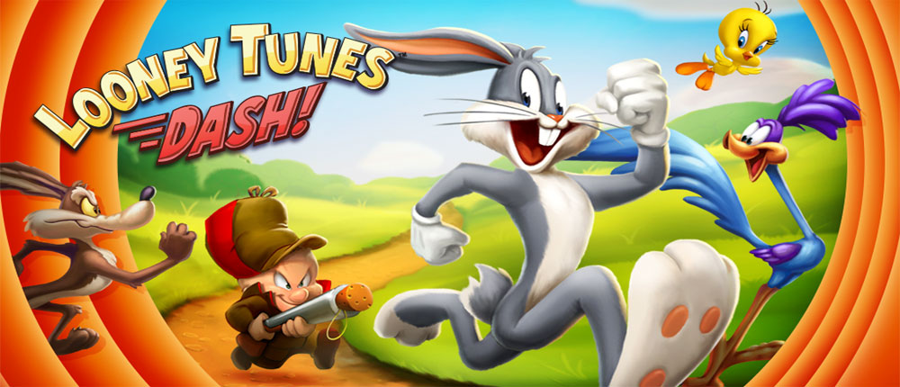 دانلود Looney Tunes Dash - بازی دوندگی باگز بانی اندروید + مود
