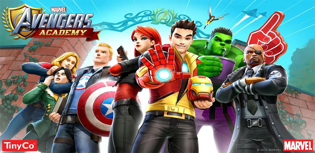 """دانلود MARVEL Avengers Academy - بازی ماجراجویی """"آکادمی انتقام جویان"""" اندروید + مود"""