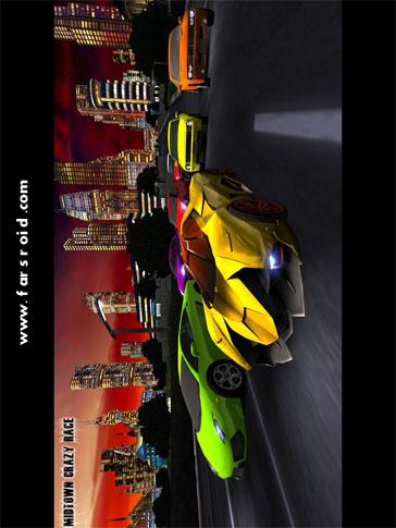 MIDTOWN CRAZY RACE Android بازی اندروید
