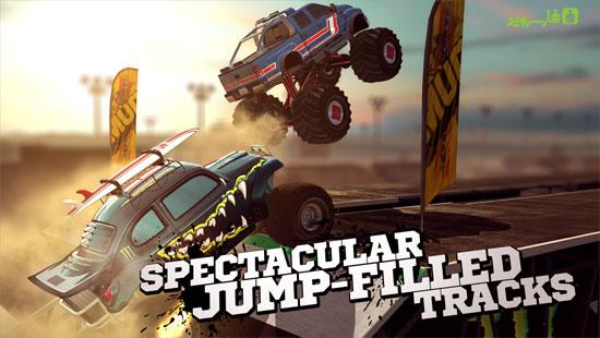 دانلود MMX Racing 1.16.9320 – بازی کامیون هیولا اندروید + مود + دیتا