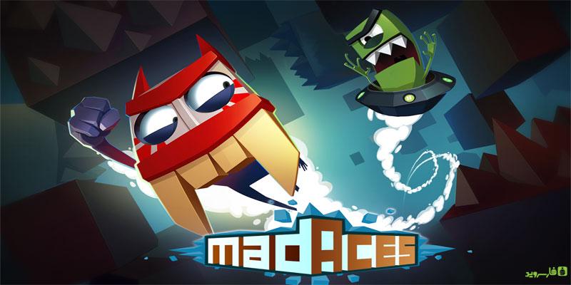 دانلود Mad Aces - بازی هیجان آور خلبان های دیوانه اندروید + مود