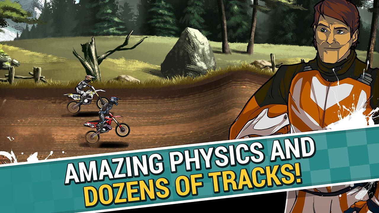 Mad Skills Motocross 2 Android - بازی جدید اندروید