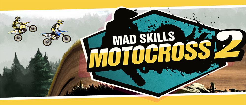 دانلود Mad Skills Motocross 2 - بازی موتوکراس هیجان انگیز اندروید + مود