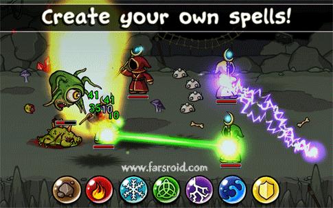 دانلود Magicka 1.4.3 – بازی استراتژیک سحر و جادوی کا اندروید + مود