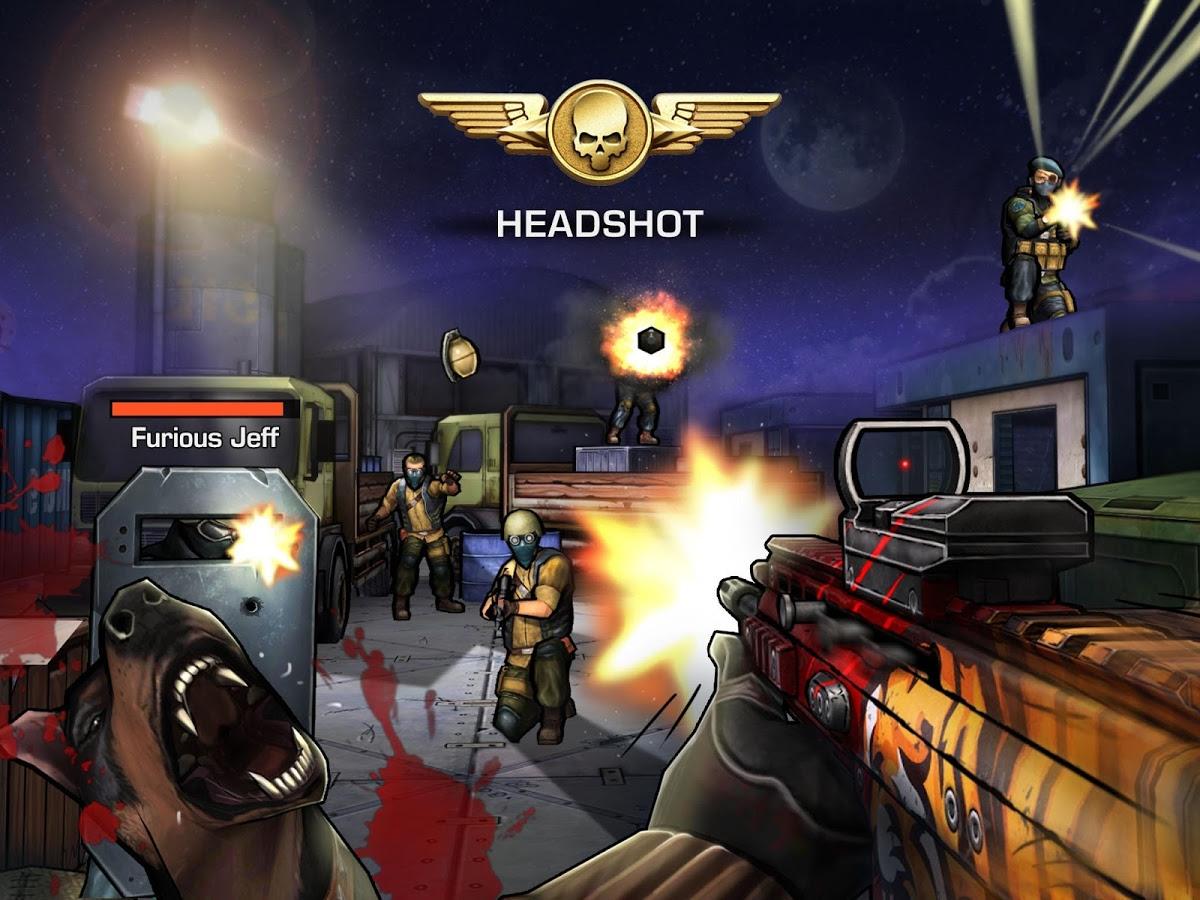 """دانلود Major GUN : War on terror 4.1.5 – بازی تفنگی فوق العاده """"تفنگ سنگین"""" اندروید + مود"""
