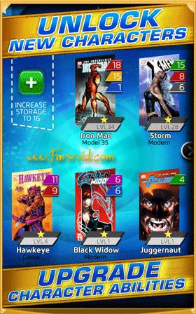 Marvel Puzzle Quest: Dark Reign Android بازی اندروید