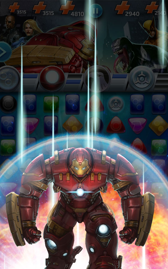 Marvel Puzzle Quest: Dark Reign Android بازی اندروید
